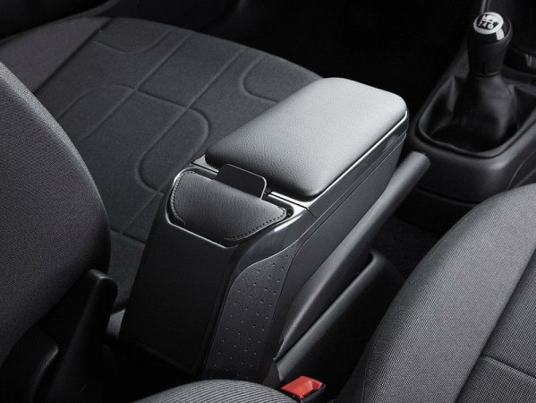 Renault Captur (2017-) - Premium Armrest with portable pocket