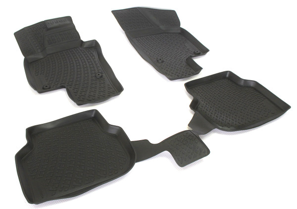 Rubber floor mats with high edges - Volkswagen Golf VII (2013-)