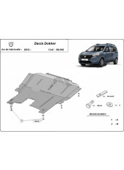 Engine metal shield - DACIA Dokker