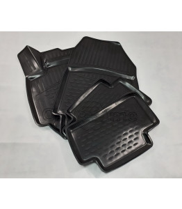 Rubber Floor Mats 3D DELUXE - BMW 5er Touring Wagon (F11) (2010-2016)