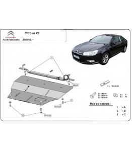 Engine metal shield - Citroen C5 (2012-)