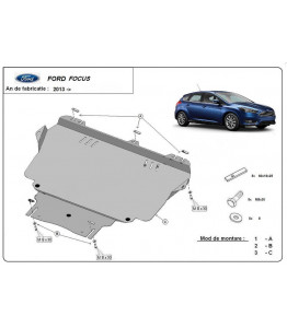 Engine metal shield - Ford Focus III (2010-)