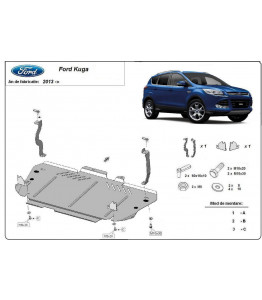 Engine metal shield - Ford Kuga II (2012-)