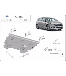 Engine metal shield - Ford S-Max II (2015-)