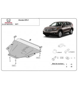 Engine metal shield - Honda CR-V (2010-)