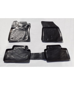 Rubber floor mats with high edges - Renault Kadjar (2015-)