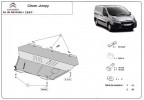Engine metal shield - Citroen Jumpy II (2012-)