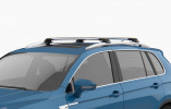 MITSUBISHI OUTLANDER (MK2) SUV (2007-2012) - Premium roof rack cross bars- bright silver - V1