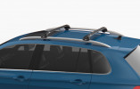 CHEVROLET CAPTIVA SUV (2006-2018) - Premium roof rack cross bars- deep black - V1