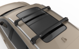 VOLVO XC40 - Premium roof rack cross bars- deep black - V2