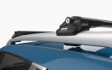 DACIA DUSTER SUV (2014-2017) - Premium roof rack cross bars- deep black - V1