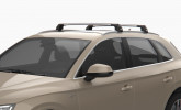 KIA SPORTAGE QL 2016 - Premium roof rack cross bars- bright silver - V2