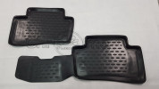 Rubber Floor Mats 3D DELUXE - TESLA Model S (2012-)