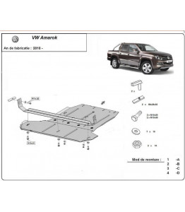 Metal shield for differential - Volkswagen Amarok (2010-)