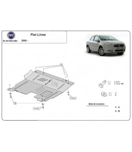 Engine metal shield - Fiat Linea