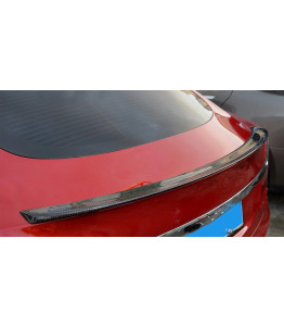 Rear trunk spoiler in 100% Carbon Fiber - Tesla Model S 2012-2018
